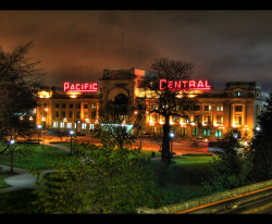 fuckyeahbc:  Pacific Central Station, Vancouver  By me:)