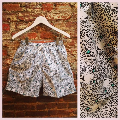Cheetah prints are not just for the girls. New #franks bathing suites now at OWEN.