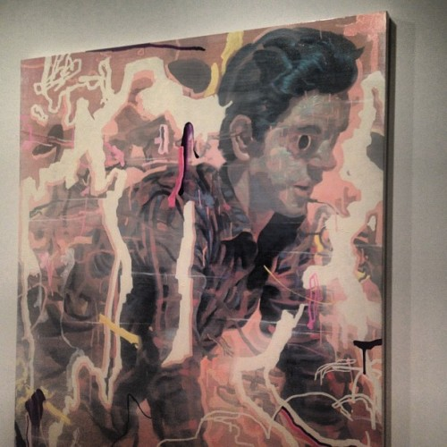 @jamesjeanart killed his solo exhibition tonight… (at Tilton Gallery)