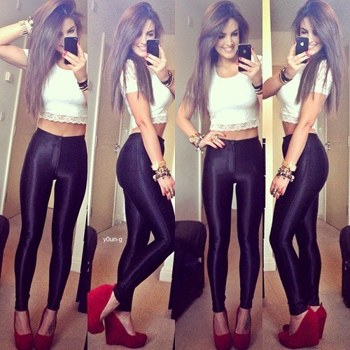 beautifulyskinny:  To look good from every angle!!