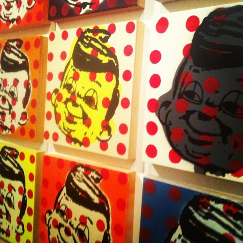 #thomasbuildmore #art (at Lot F Gallery)