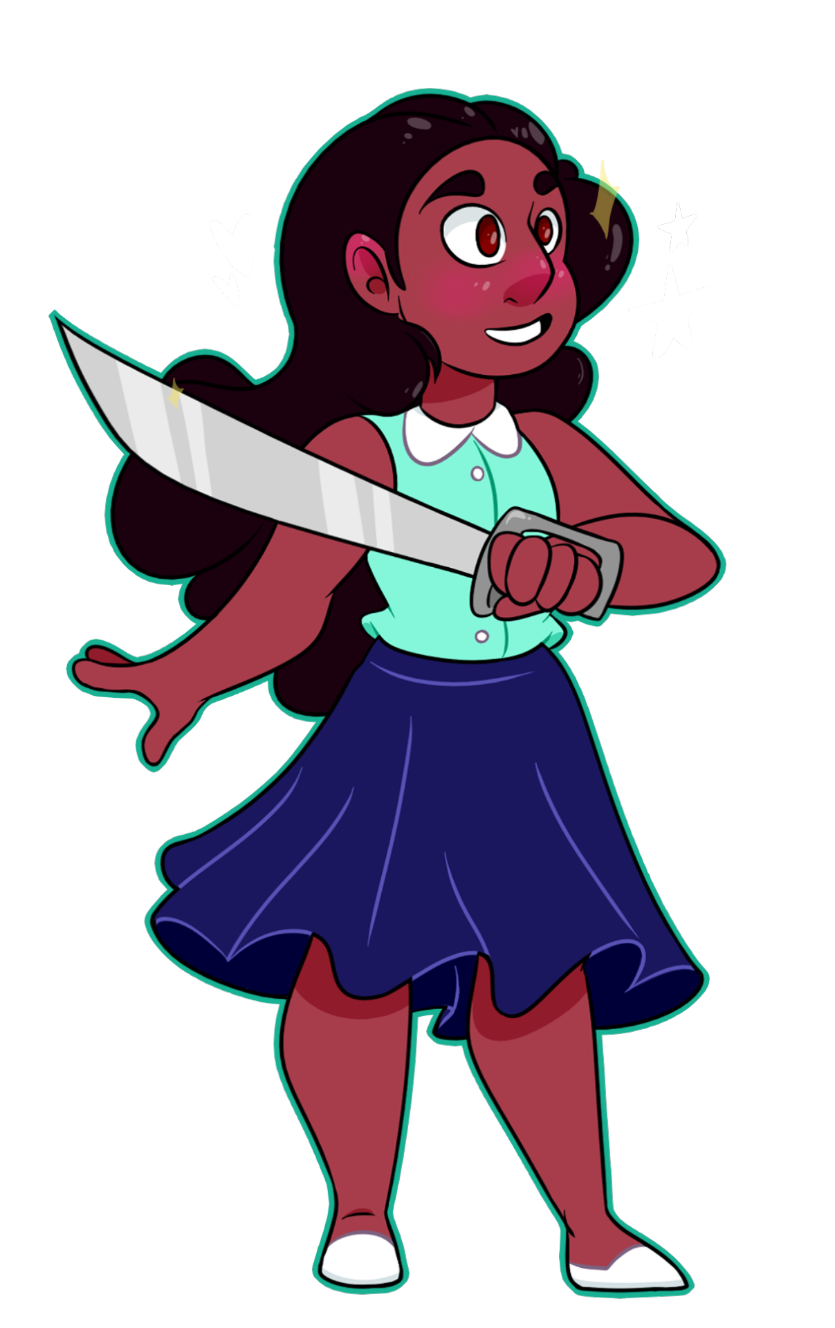Cute little Connie doodle. I loved this outfit!