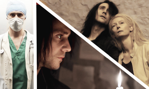 sirhiddles:  Tom Hiddleston and Tilda Swinton in Only Lovers Left Alive