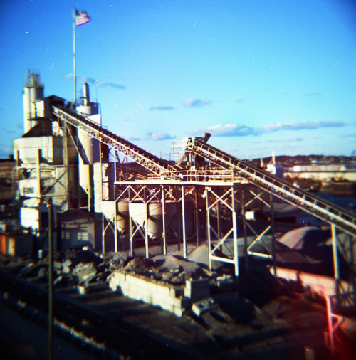 "Nashville Ready Mix on Flickr.Cropped slightly ""Meg"" Diana F+, Kodak Portra 160"