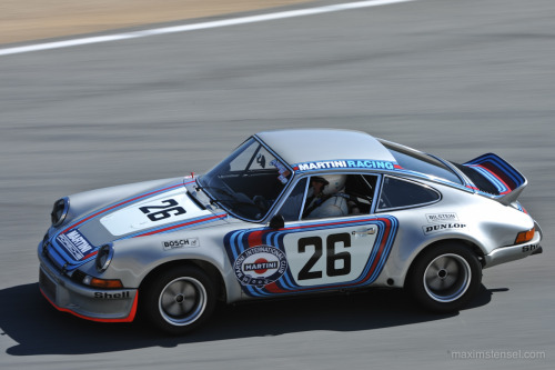 "Martini 911. This car took ""Best of Show"" at Rennsport's concours. maximstensel:"
