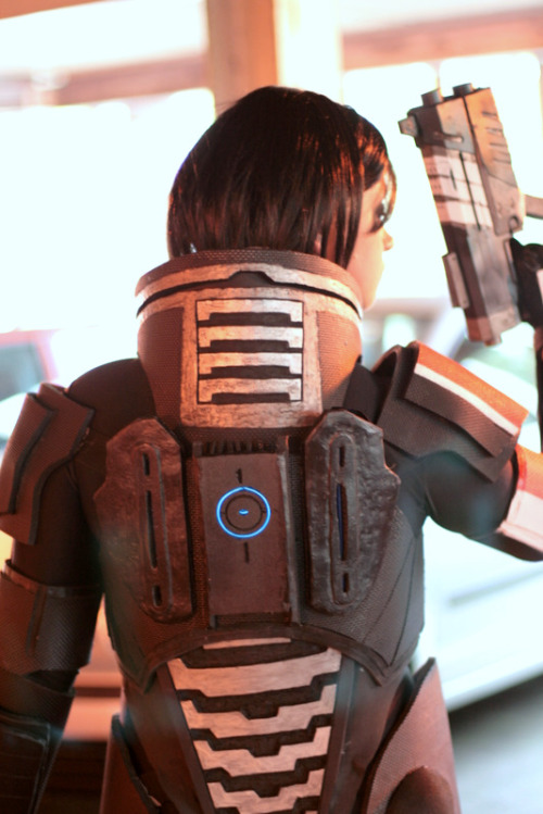 Femshep cosplayVersion 1 of our Femshep build, version 2 coming soon :D