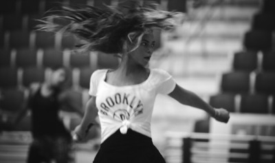 Beyonce Rehearses For Super Bowl While Repping Brooklyn Nets    //