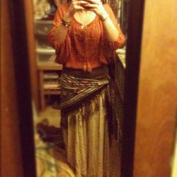#new #skirt #thrift #store #shopping #hippie #vintage #fashion #peace #nature #hippy #60's #70's #me