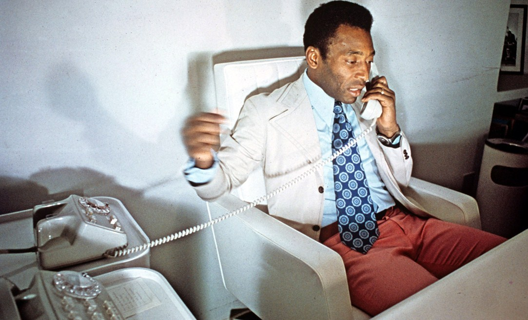 Pele, 1973.Source: British GQ