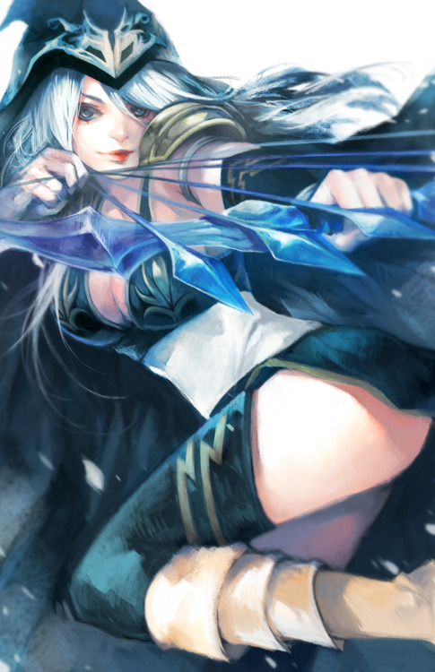 arkhane:  League of Legends: Ashe the Frost Archer, Ezreal the Prodigal Explorer, Darkflame Shyvana, Captain Teemo and Katarina the Sinister Blade Illustrations by =ippus ippus Tumblr