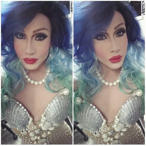 phiphiohara:  Just got done with another shoot! This one for Industry Bar NYC! °○•<><  IM getting real tired of her beauty … REAL TIRED!!!!