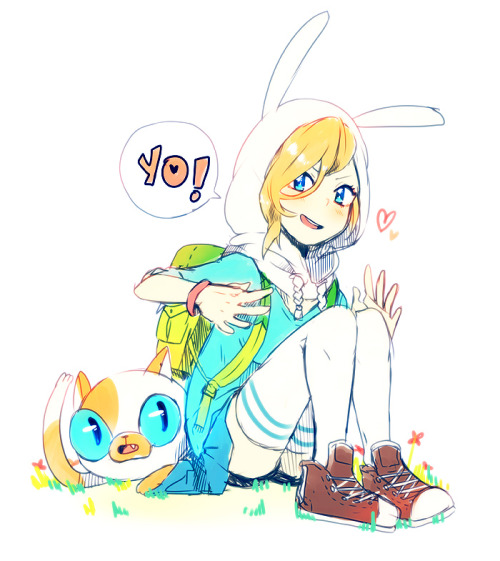 pyayaya:  and now Fionna and Cake yo!