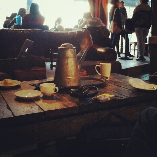 smileandrespire:  Slow train cafe, homie