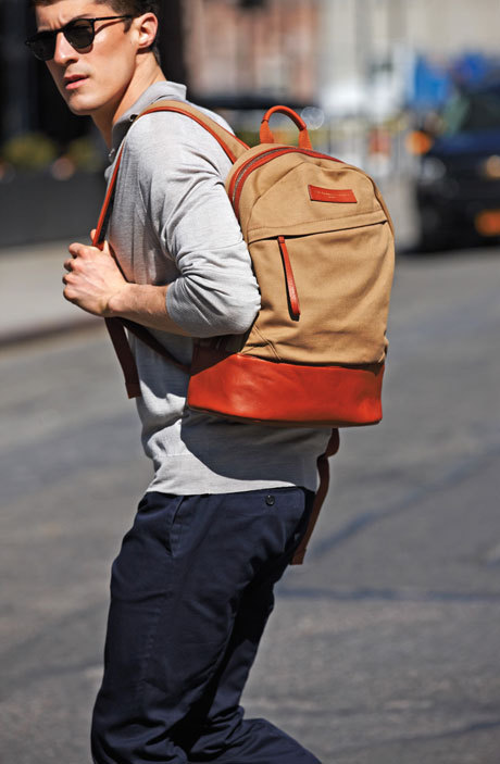 details:  Backpacks are back.
