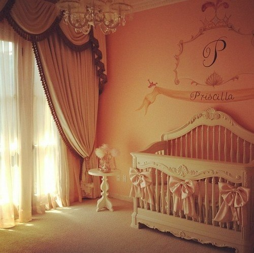 glamorous-women:  This is what my daughters nursery will look like :)