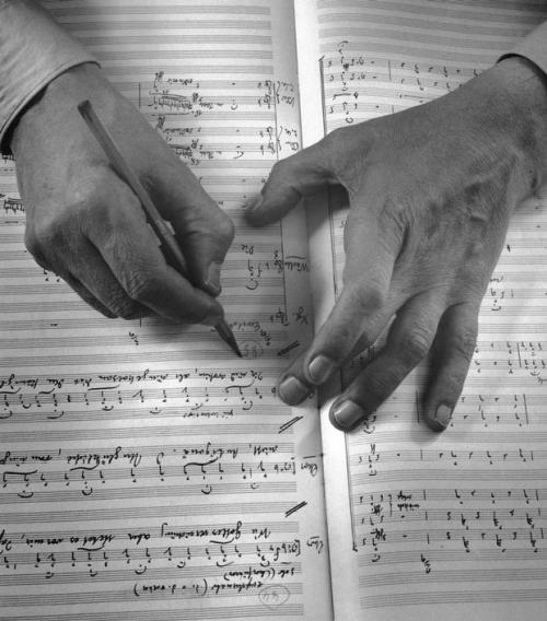 entregulistanybostan:  Herbert List: German composer Carl Orff, Munich, 1955 / Magnum Photos varietas  Herbert List: German composer Carl Orff, Munich, 1955./ Magnum Photos