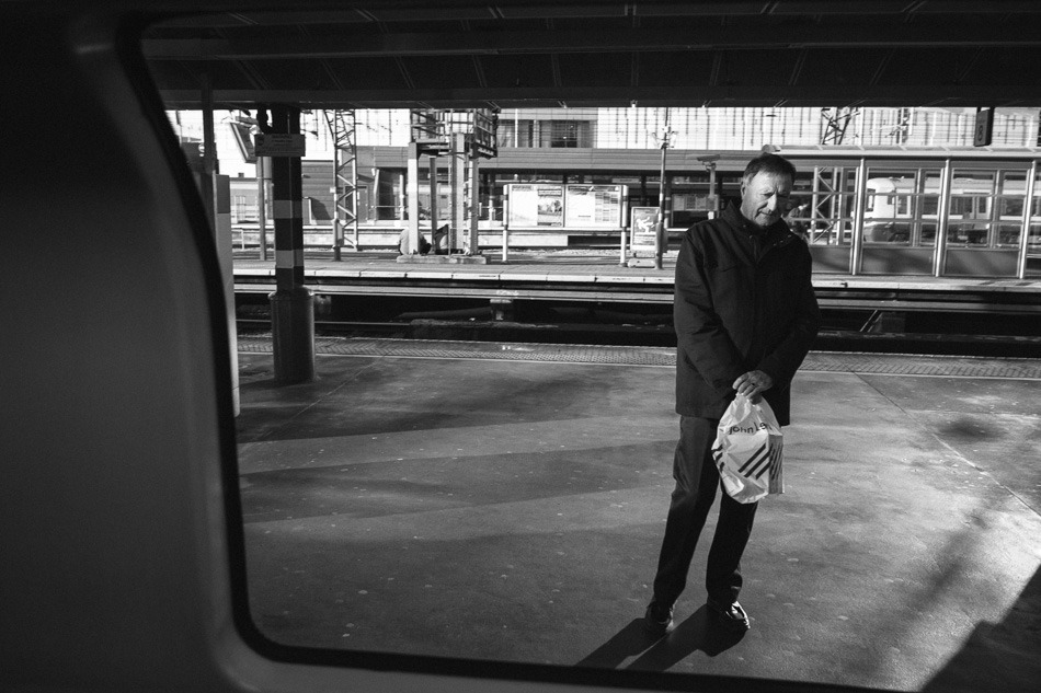 The Wait Stratford, London, 2013. X-Pro 1 + 18/2