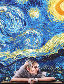 The Great Gatsby  Daisy  + Vincent Van Gogh  Starry Night