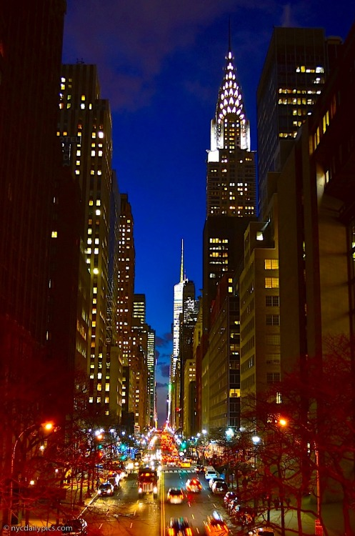42nd Street at Twilight (via nycdaily)