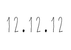 paradiserey:  because today is 12.12.12