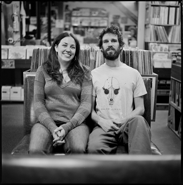 Laura and Dave of Hymie's Vintage Records in Minneapolis on Flickr.
