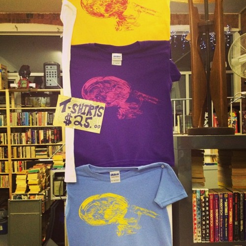 Engage! Trek T's also available at scifibooks.com (at...