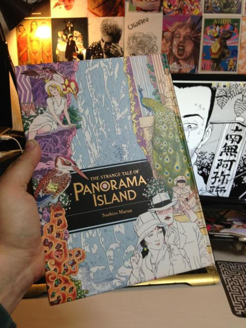 THE STRANGE TALE OF PANORAMA ISLAND!  Will have preview copies at the Youth in Decline table at TCAF. Hitting stores widely at the end of May! Published by Last Gasp. <3