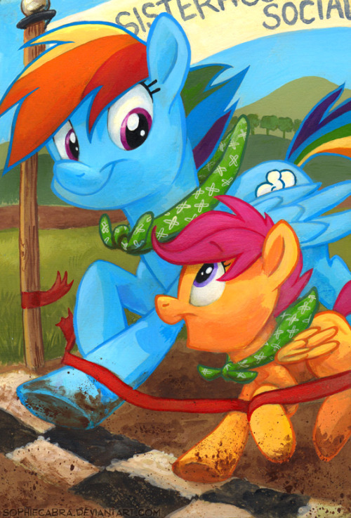 This Year's Champs by *sophiecabra I hope Season 4 brings more RD + Scootaloo