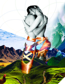 Ballet / Nature Collage  -Carlos Oliveras Colom