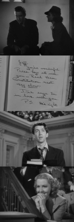 tumblr mmfn4sTgdE1qzbykto1 500 Mr. Smith Goes to Washington, 1939 (dir. Frank Capra) By...