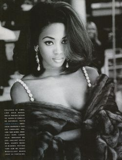 Naomi by Patrick Demarchelier, 1990