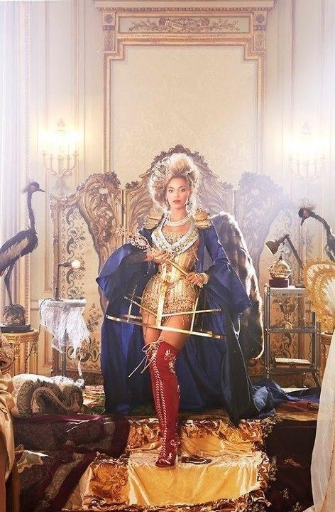 Queen Beyoncé for Vogue?