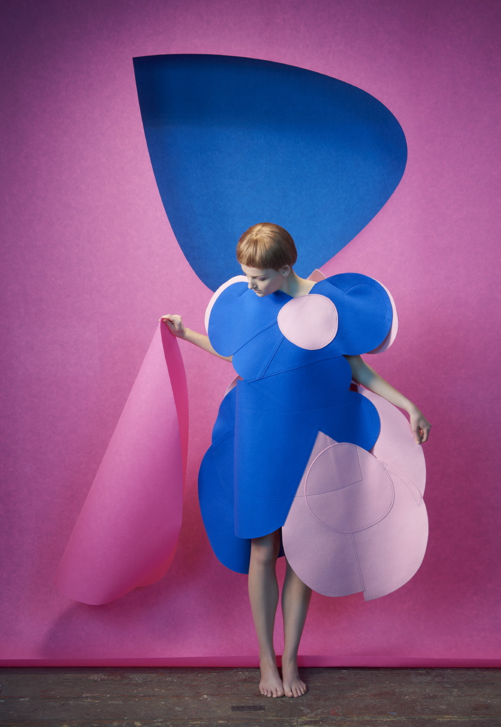 "stormtrooperfashion:  Siobhan O'Keefe & Andrea Ojdanic in ""Comme des Garçons"" by Sophie Delaporte for Idoménée Fashion Book, Spring/Summer 2013 See more from this set here."
