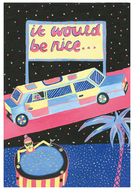 pietervandenabeele:  postcard design by JESSWARBY on Flickr.