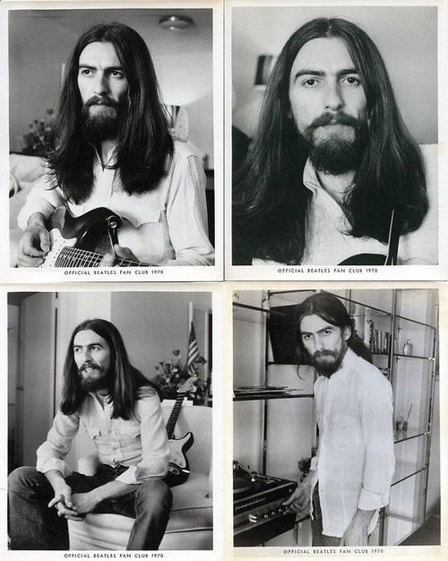 meditategravitate:  meadow-sage:  superseventies:  George Harrison, 1970.  Babliest of all babes  when his hair is up mmmmmm