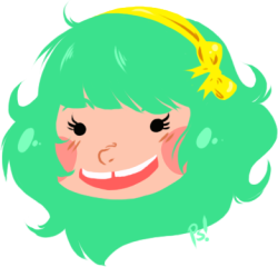 papa-sam:  CUTE TEAL HAIRED GIRLS WITH GAPS YIS PLZ~ She belongs to Ferret Party's comic Catnip Circle! I will be reading ASAP.  ooooooooooooooooh my god wHAT A CUTE