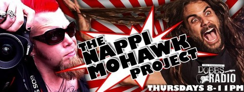 Hope you're listening to the Nappi Mohawk Project right now on the Dobbs Radio website!  Click the picture to take you there!