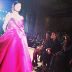 Pink lady @marchesafashion. ML #nyfw