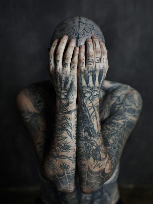 (Zombie Boy / Rick Genest Photoshoot | Joey L.から)