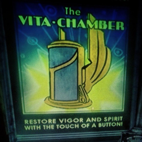 eeshameows:  #vitachamber disabled :) #survivormode on #bioshock #2kgames #gaming #videogames #rapture #playstation3