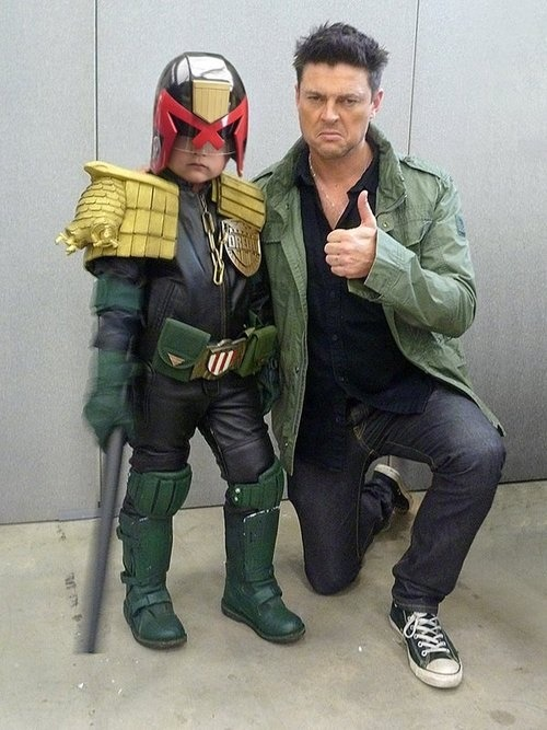 writerwithoutfear:  Dredd  This kid is so much cooler than us.