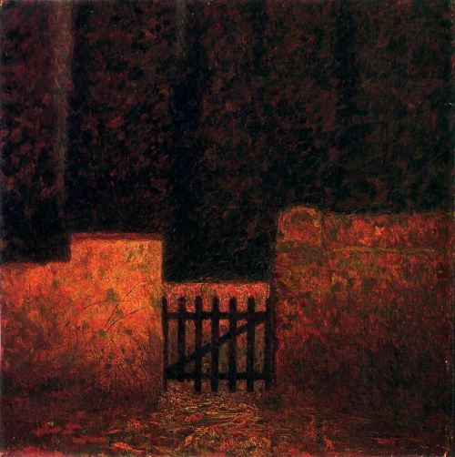 1910-again:  Benvenuto Benvenuti (1881-1959), The Closed Door n.d.