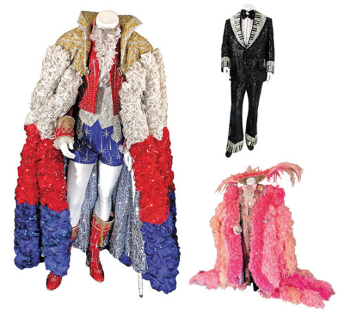 Highlighting some of Liberace's wildest looks. More here.