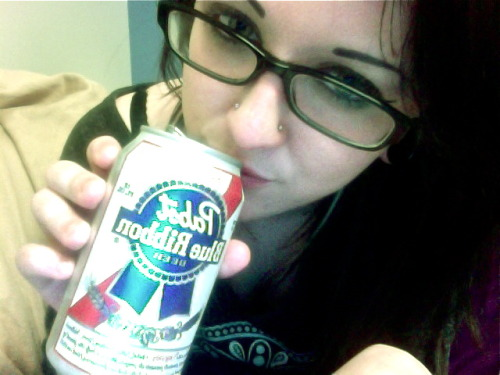 Lovin my beer doe.
