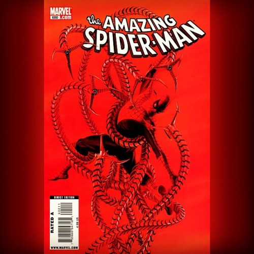 #SpiderMan: The Century-mark celebration: #AmazingSpiderMan #600 #Bonus #Variant #Cover