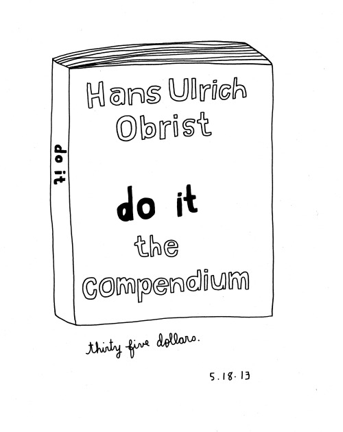 Daily Purchase Drawing for 05.18.13 do it the compendium designed by Scott Ponik In love with this book!