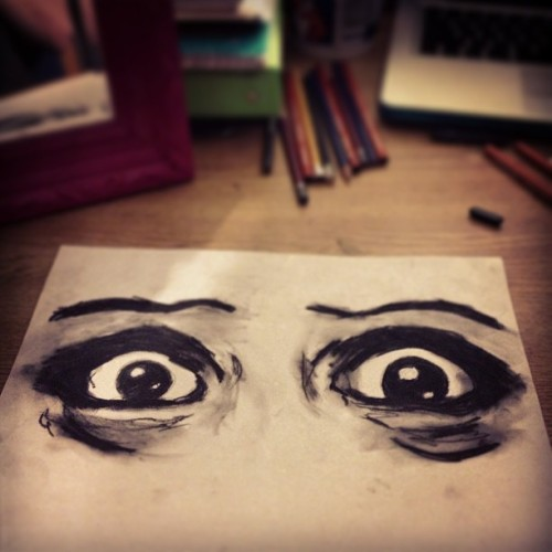 #charcoal (at DuBois Hall)