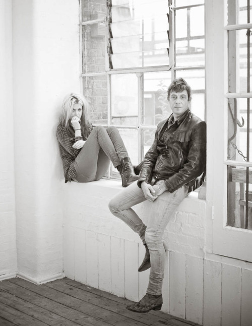 benrobertsphoto:  The Kills, London, July 2012. Outtake from shoot for Electronic Beats Magazine. @ebnet Photography by Ben Roberts www.benrobertsphotography.com