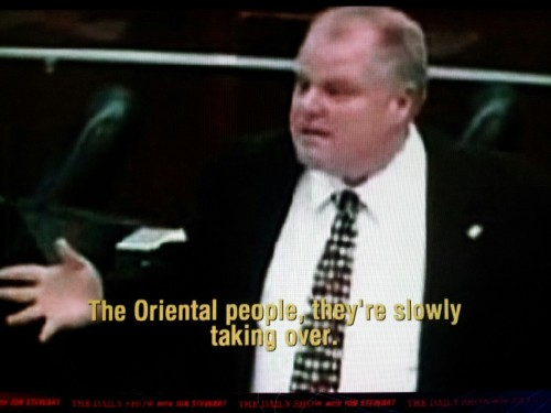 So Toronto's got a crack-smoking racist of a mayor, I see. (h/t The Daily Show)
