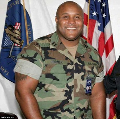 "bulletbutt:  squeakyfoam:  diarrheaworldstarhiphop:  Christopher Dorner's manifesto http://content.clearchannel.com/cc-common/mlib/616/02/616_1360213161.pdf tl;dr supposed police paladin in the LAPD gets fired, his life ruined by the LAPD for reporting police brutality and other LAPD corruption including people being involved in the rodney king thing now in positions of seniority. Declares asymmetrical warfare on the LAPD, suspected in 3 police slayings and now Los Angeles citizens are being told to avoid the police - by the police. Basically he's gone INNAWOODS MODE, is aware of all LAPD strategies and is trying to kill all the crooked police in Los Angeles in and off duty. He is unafraid of death and expects it. ""I am a walking exigent circumstance with no OFF or reset button.""  holy shit  wot  holy fuck……"